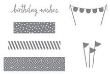 SU! Build A Birthday / Inspirations gathered for use with SU! Build A Birthday stamp set.