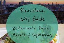 Barcelona / City Guide und Reise-Tipps für Barcelona: Restaurants, Bars, Märkte, Sightseeing und die besten Tipps für Foodies