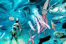 Aquaman and Mera / by Nathan Hunt