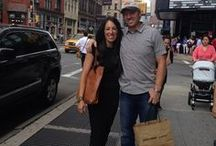 Chip & Joanna Gaines. / Joanna and Chip Gaines.  Fixer Upper TV show on HGTV.