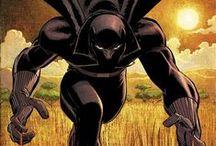 Black Panther and Wakanda / by Nathan Hunt