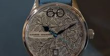 """Avantgarde - Winter / People feel the consequences of the climate change - global warming. The Designer calls attention to an indispensable season and breaks with traditional appearance of luxury watches with his watch """"Winter"""""""