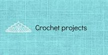 Crochet Project / This is a fun board of projects that I have finished