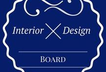 Interior Design - Modern / Contemporary Interior Design Ideas / Board full of interior design ideas - bohemian, scandinavian, minimalistic, rustic and even more styles you will find here!