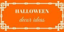 Halloween Decor Ideas / Interior and exterior decoration for halloween!