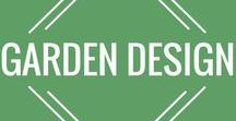 Garden Design / Modern garden design for your backyard!