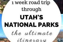 National Parks / A list and guide to all the United States National Parks, Markers and forrest.