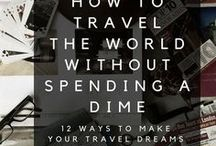 Travel Budgeting / Ways to save money for a trip or while you are on the road. This Pinterest Board also gives you ideas on how to make money while you are traveling as well. From taking log trips, short trips or living a van life, this board has something for you and your budget.