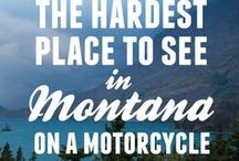 Motorcycle Road Trips / Ideas on which Motorcycle routes to ride. Tips for clever travel and what to expect along the way.