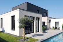 Design your Home / Le Groupe Avenir a réalisé de nombreuses maisons modernes au look contemporain. Réalisé la votre selon vos envies