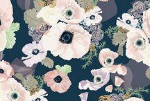 pattern design / fabrics pattern style