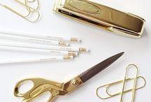 gold design / golden decoration