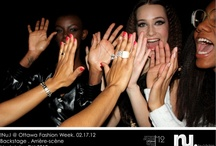 Nu.I Spotted / Follow us behind the fashion scene!  Here's a peek inside our world!  Backstage, events, and more!