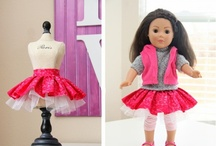 Doll clothes sewing