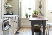 Kitchens We Love / Beautiful Spaces that Encourage Delicious Foods with Friends and Family / by Gourmet Gift Baskets.com