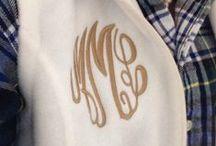 M is for Monograms / Monogramaholic- the first step is admitting you have a problem. / by Kate Martelino