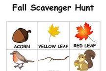 Fall Scavenger hunts!