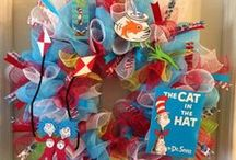 Dr. Seuss / Dr. Suess Birthday Ideas.  Everything from Crafts to games to food inspired by the books we loved along the way.