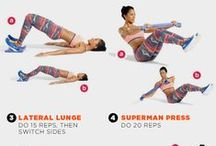 Quick & Easy Workouts / Sneaking in a workout has never been so easy....