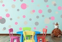 Nursery Wall Decals / High Quality Vinyl Wall Decals and Custom Wall Decals for your home.