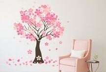 Tree Wall Decals / Decorate your wall with any of these beautiful tree vinyl wall decals.
