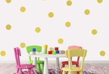 Wall Art Decals / Fun ways to add character using our vinyl wall decals.