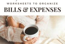 Organization tips & tricks / Pins from Lifestyle blog C'est La Vie and all other pins that inspire millenials and unfunctional adults to organize their homes while saving money and staying motivated!