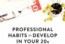 Career / Tips, tricks, and resources about professional development and learning how to be an adult in the workplace. Twentysomething, adult, women, and millenial based!