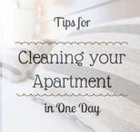 Cleaning / Tips and tricks found by lifestyle blogger C'est La Vie about ways to keep your home clean as an aspiring adult and successful human!
