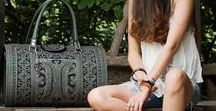 Boho Chic Style / Bohemian chic style handbags, clothing and accessories for the free spirited, conscious fashionista.