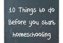 Homeschooling / by Karin | A Grateful Life