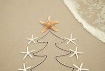 Coastal Island Christmas / Beautiful and stylish festive coastal island inspiration.