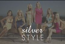Silver Style / This board dedicated to the Inspired Silver fashion blog Silver Style! Enjoy images from our weekly trend posts :)