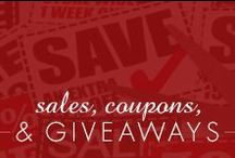 Sales | Coupons | Giveaways / by Inspired Silver