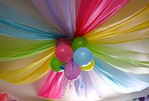 Birthday party ideas / Birthday Party Ideas features inspiration for making your own birthday party theme, from decorations to menu to favors and invitations.