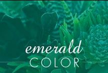 Emerald / by Inspired Silver