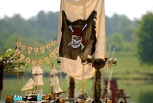 Pirate Party / Pirate Themed Birthday Party ideas for kids