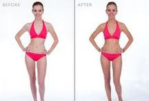 Before & After TanTowel / These are real results from people who have used Tantowels to achieve their perfect tan.
