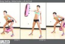 SANDBAG / Example Sandbag Exercises