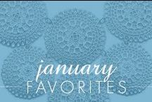 January Favorites! / Some of our favorite pieces of jewelry from the Inspired Silver team!