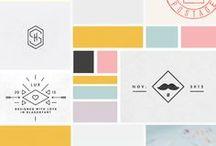 Lovely logos / Logos | Logo designs | Logo colour palettes |