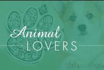 Animal lovers / We love animals as much as you do!