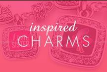 Inspired Charms / Our latest collection of Inspired Charm Bracelets! / by Inspired Silver
