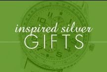Inspired Silver Gifts / All holidays gift ideas here!