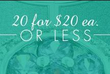20 Items Under $20
