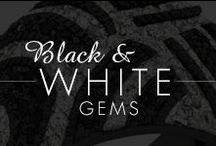Black and White Gems / by Inspired Silver