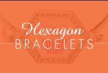 Hexagon Bracelets
