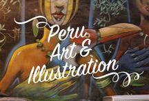 Peru Art & Illustration / Kunst, Handwerk, Textilien, Schmuck und co. aus Peru.