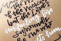 Embossed Lettering