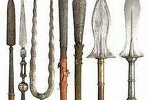 Strumenti Medievali / Weapons and Items to create.